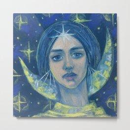 Hecate / Goddess of the Moon Metal Print
