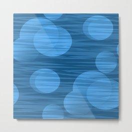 Blue Moon of Kentucky Abstract Metal Print
