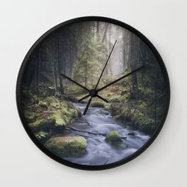 Silent whispers Wall Clock