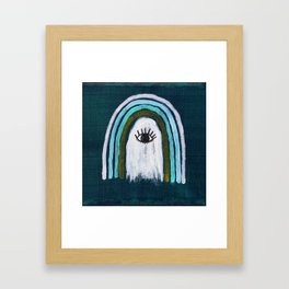 Ghost of Protection Framed Art Print