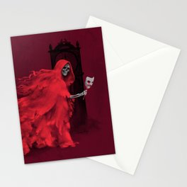 Red Death Stationery Cards