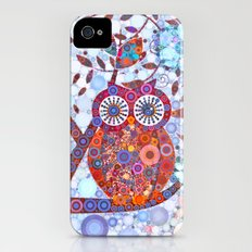 If Klimt Painted An Owl :) Owls are darling birds! Slim Case iPhone (4, 4s)