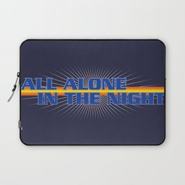 All Alone In The Night Laptop Sleeve