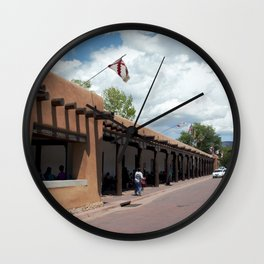 Santa Fe Old Town Square, No. 5 of 7 Wall Clock