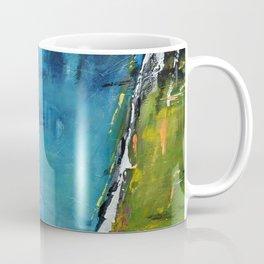 TETRIS, Abstract  Acrylic Painting, colorful mosaic Coffee Mug