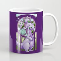 mucha Mugs featuring Mucha Goodra by daftmue