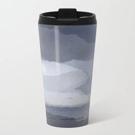 Cloudy Metal Travel Mug