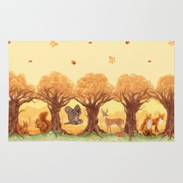 Sunny Forest Rug