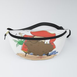 Funny Pirate dabbing product - perfect gift Fanny Pack