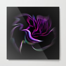 Flowermagic - Rose Metal Print