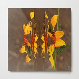 The Planet of the Yellow Flowers 02 Metal Print