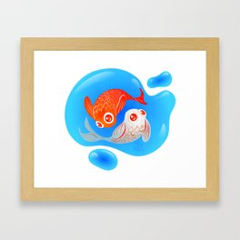 Finding Balance Framed Art Print