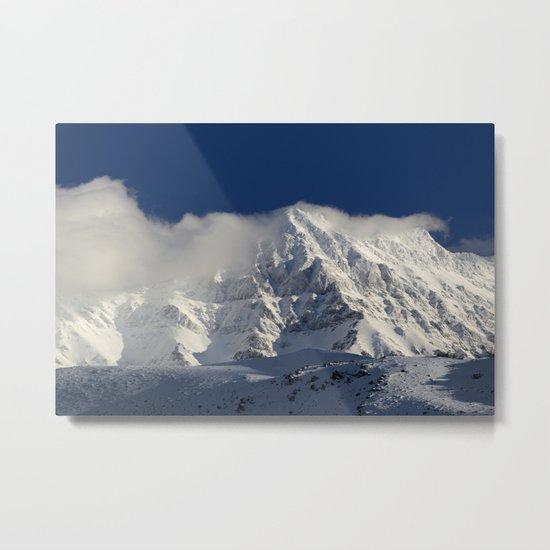 """""""Foggy mountains"""". Alcazaba  mountain 3371 meters Metal Print"""