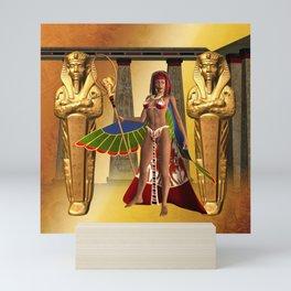 Wonderful egyptian women Mini Art Print