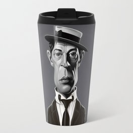 Buster Keaton Travel Mug