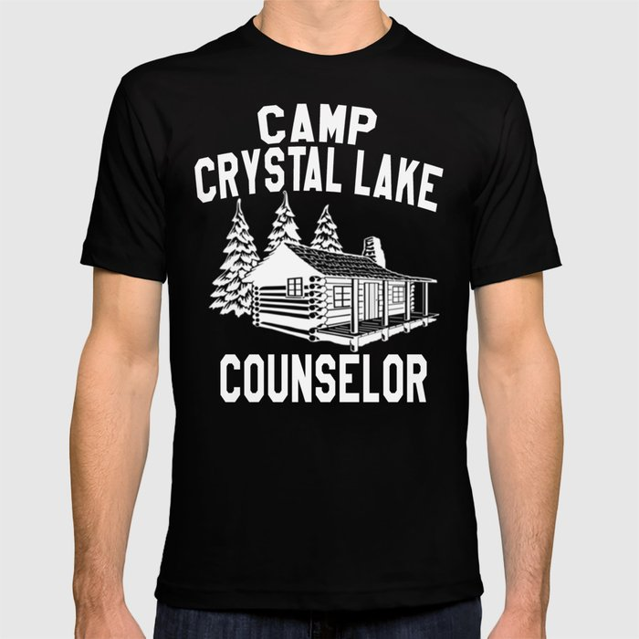 59505f8f27c6 Camp Crystal Lake Counselor - Friday The 13th T-shirt by barrelroll ...