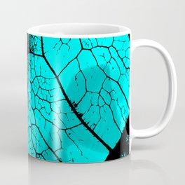 Aqua leaf Coffee Mug