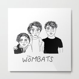 The Wombats Metal Print