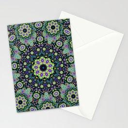 Nine sided paisley Stationery Cards