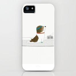 """""""Upward Dog"""" iPhone Case"""