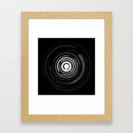 Enso Circles - Zen Circles #2 Framed Art Print
