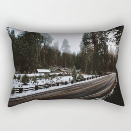 Winter in the Giant Forest Rectangular Pillow