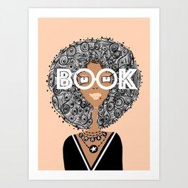 Book Smart Art Print