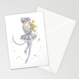 Diana´s human form Sailormoon fanart Stationery Cards