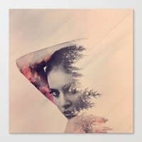 virginia Canvas Prints featuring virginia by Peg Essert