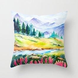 Spring Scenery #3 Throw Pillow