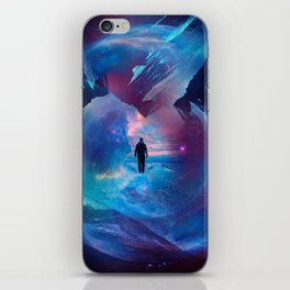 I am tired of earth Dr manhattan iPhone Skin