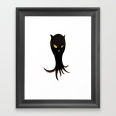 Jaguar Squid Framed Art Print
