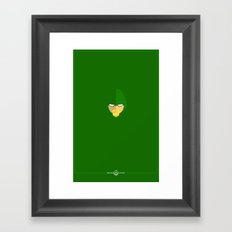 Green Arrow Framed Art Print