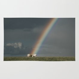 Rainbow II  - Landscape and Nature Photography Rug