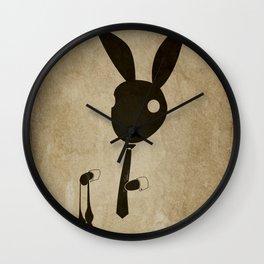 Goodbye Bow Tie Wall Clock