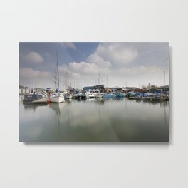 Bristol Harbourside Metal Print