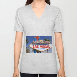 Welcome to Las Vegas Unisex V-Neck