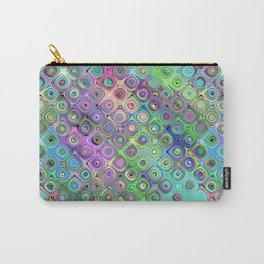 Abstract Pattern of Colorful Shapes  Carry-All Pouch