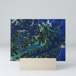 Cook Strait - New Zealand Mini Art Print