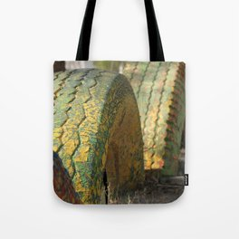 Tired Tires Tote Bag
