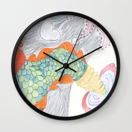 In memory of a lost creature Wall Clock