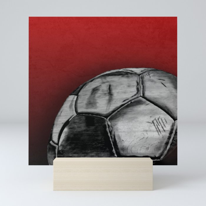 Soccer Days Mini Art Print