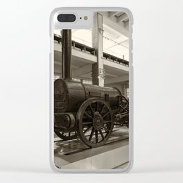 Stephenson's Rocket Clear iPhone Case