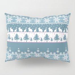 Retro .Christmas . Pillow Sham