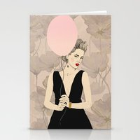 dragon ball Stationery Cards featuring Ball by Magdalena Pankiewicz