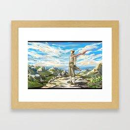 mako Framed Art Print