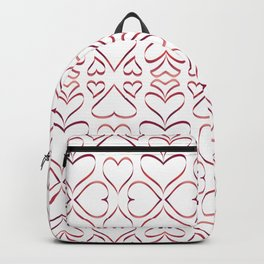 Hearts 1 Backpack