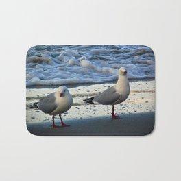 Moeraki Seagulls Bath Mat