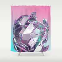 bucky Shower Curtains featuring Bucky II by manso