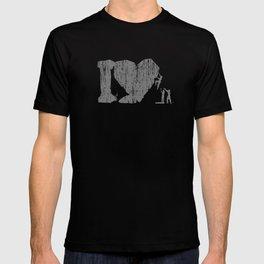 I Love Bouldering (white) T-shirt